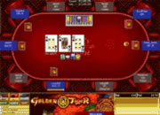 Golden Tiger poker table